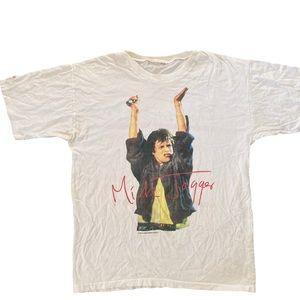 Authentic vintage Mick Jagger concert shirt